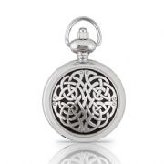 Never Ending Knot Womens Pendant Watch